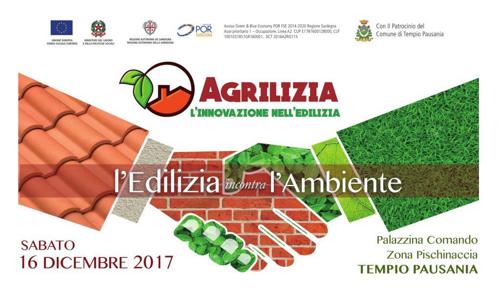 L'Edilizia incontra L'ambiente – TEMPIO PAUSANIA SABATO 16 DICEMBRE 2017