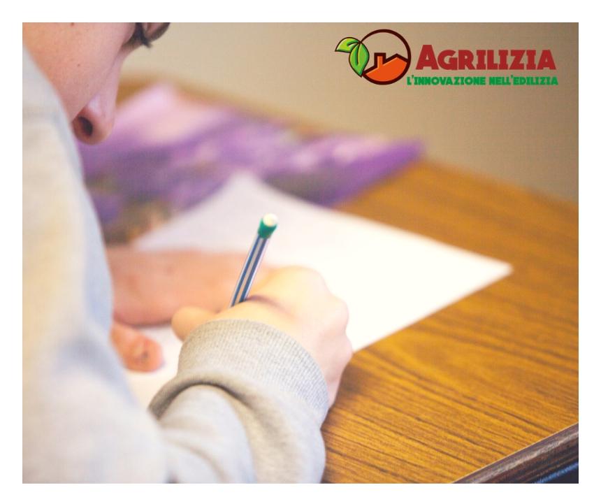 PROVA SCRITTA DI SELEZIONE CORSO GREEN BIM - PROGETTO AGRILIZIA